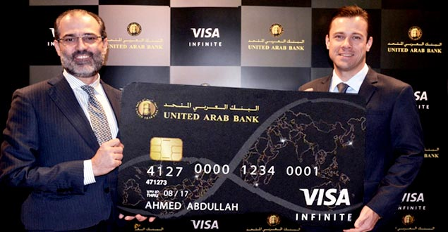 United Arab Bank Visa Infinite Credit Card